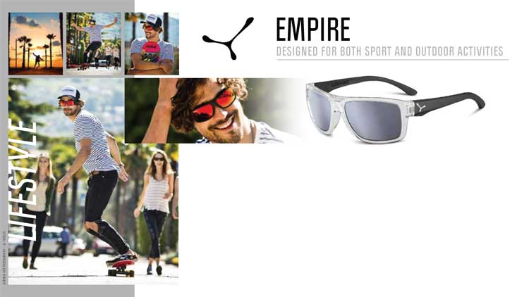 EMPIRE – DESIGNED FOR BOTH SPORT AND OUTDOOR ACTIVITIES