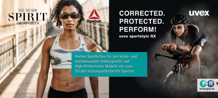 Reebok und uvex sportstyle RX punkten in der Sportoptometrie