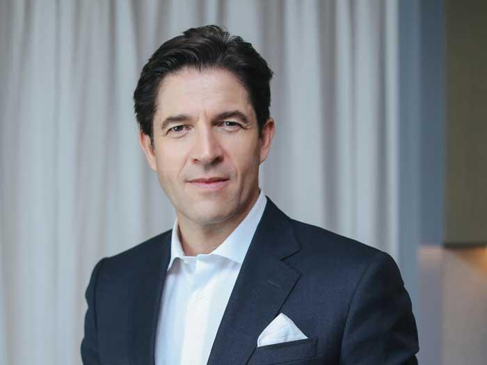 Frédéric de Narp, CEO der Bally Group