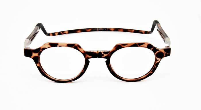 Alle CliC Brillen sind optisch verglasbar