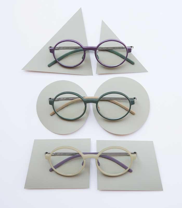 Das Frontteil wird im futuristischen 3D Druck Schicht für Schicht zu einer flexiblen und stabilen Brille aufgebaut.