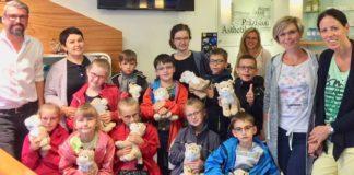 Rupp + Hubrach unterstützt zusammen mit Mirabell Optik Tschernobyl-Waisen