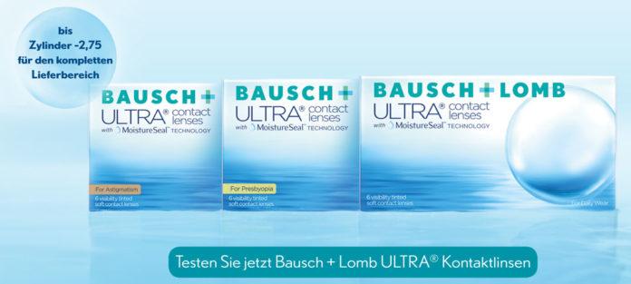 Bausch + Lomb ULTRA Kontaktlinsen
