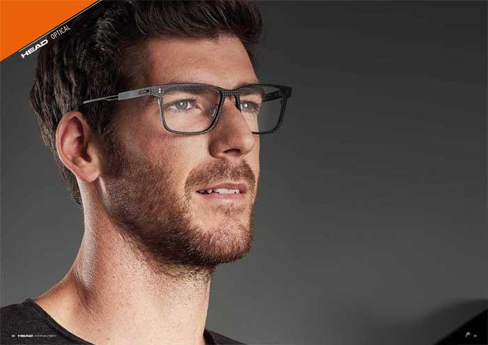 Die Kollektion HEAD OPTICAL erfreut sich mit markantem Design für Sportler undSportfans, welche stilvolle Gläser mit hohem Tragekomfort schätzen