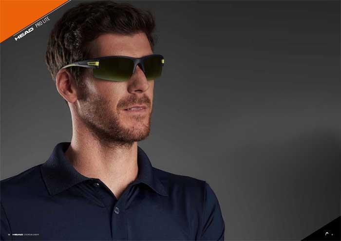 Die Kollektion HEAD PRO LITE ist eine renommierte Sportmarke und bietet günstige Unisex-Sportbrillen mitaustauschbaren Gläsern