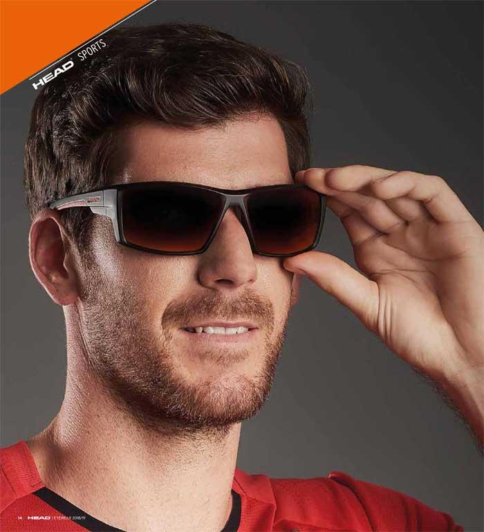Mit den Brillen der HEAD SPORTS Kollektion können sich Sportler auf das Wesentliche konzentrieren
