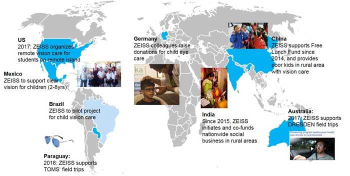 Initiativen gegen vermeidbare Blindheit – wie das von ZEISS unterstützte Weltgesundheitsorganisation Vision 2020 – wurden weltweit erfolgreich umgesetzt und helfen Jahr für Jahr Tausenden von Patienten, ihre Sehkraft zu behalten.