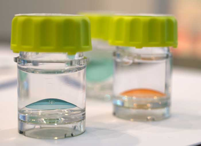Fast jeder Fehlsichtige kann von Kontaktlinsen profitieren