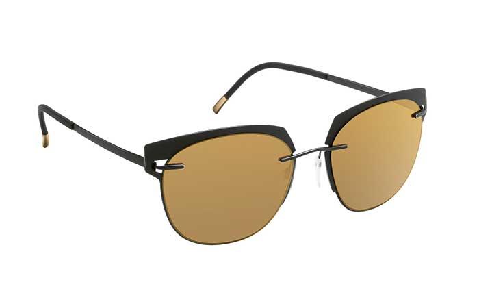 Die klassischen Sonnenbrillenfarben Grau, Braun und Grün bringen die Persönlichkeit in allen Facetten zum Strahlen.