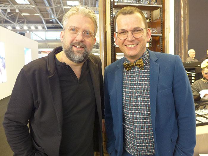 Österreichische Superstars der EyewearBranche: Andreas Pirkheim und Wolfgang Scheucher