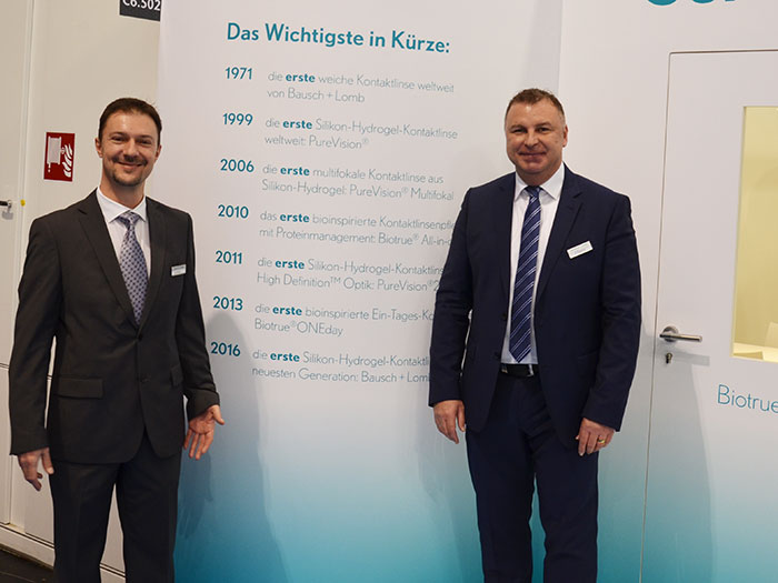 Mirza Mehicic, Gebietsmanager Österreich Ost mit Roberto Giarrizzo, Country Manager A/CH