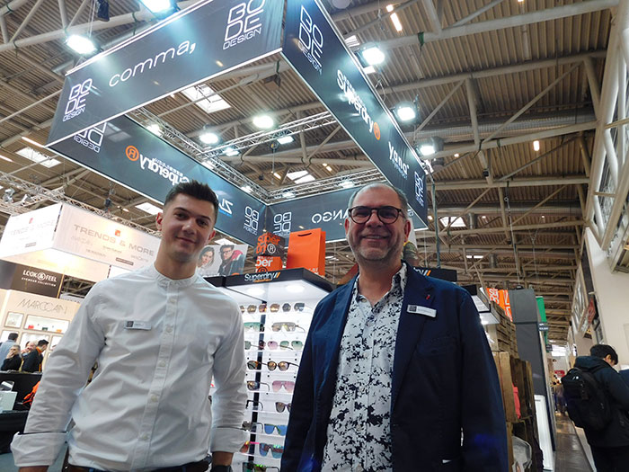Lukas Teske (Marketing) mit Bernd Reisacher (Controlling)