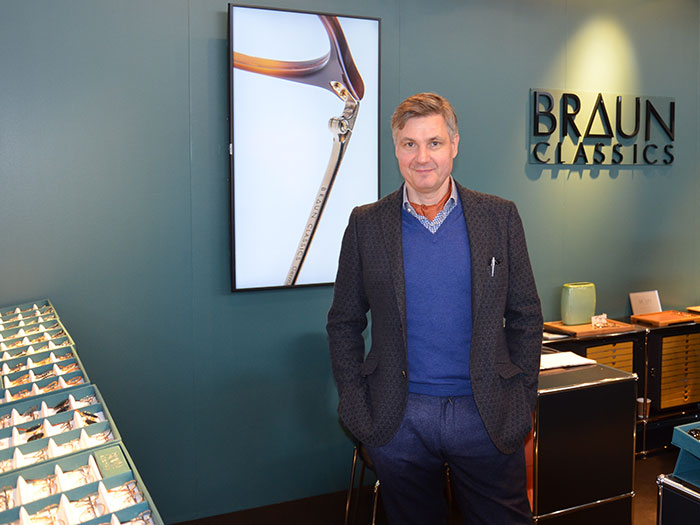 Stefan Kästner setzt bei den Augenoptikern und deren Kunden auf Nachhaltigkeit