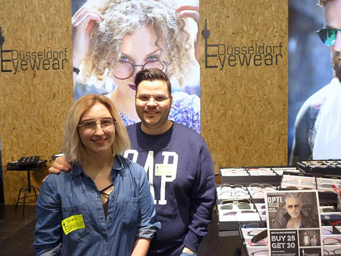 Tamara Strauß und Geschäftsführer Torsten Zehnpfennig bieten heiße, modische und urbane Eyewear