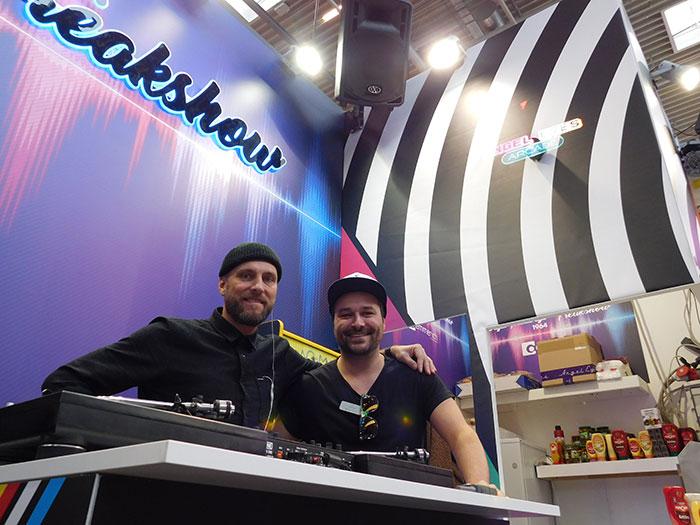 DJ Smart mit Mike Kofler (Vertriebsleiter Österreich)