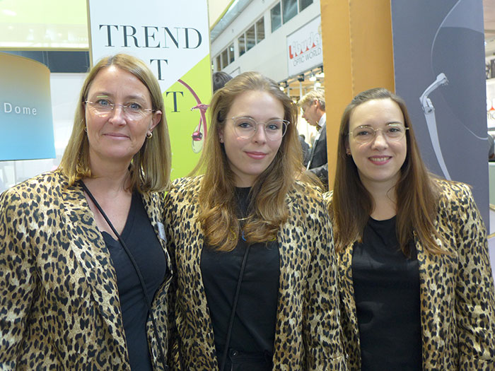 Claudia Kroos, Laura Bremer und Miriam Hasselbach