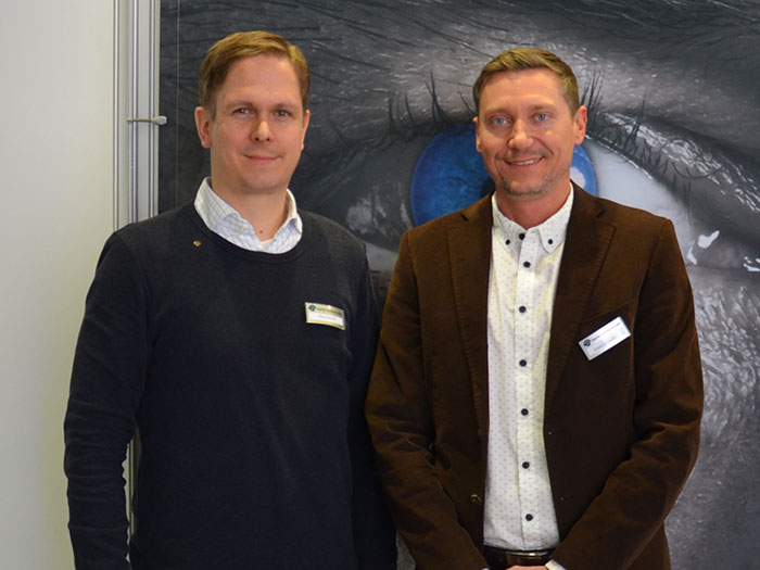 Dipl.-Ing. (FH) Mario Rehnert,MSc, Anwendungstechnik und Projektorganisation mit Edwin Hofstätter, Außendienst
