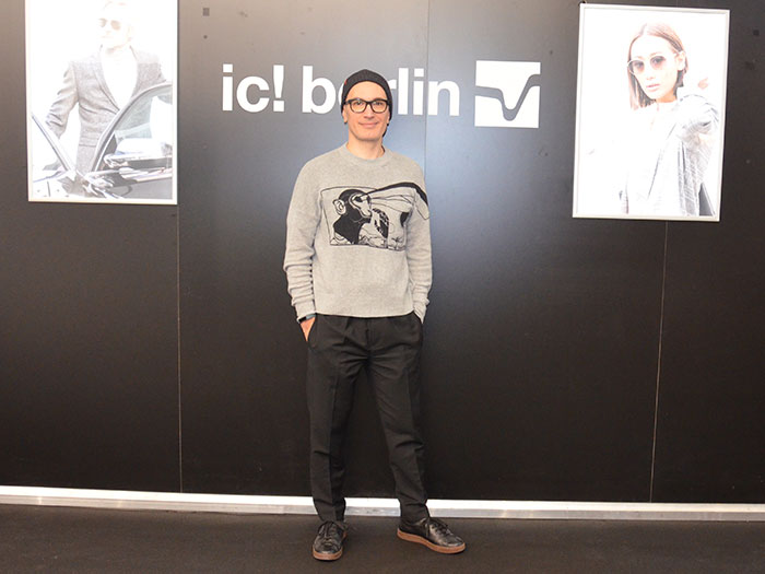 Pablo La Rosa, Brand Director erklärt die Strategien bei IC! BERLIN