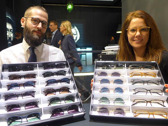 Michael und Sophie Fuxpräsentierenklassische und zeitlose Brillen