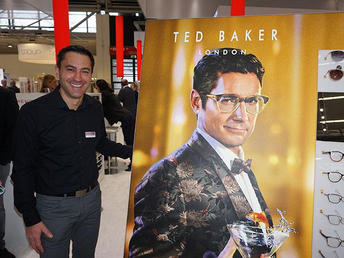Joachim Rauch, Sales Director, freut sich auf die kommende Markteinführung von Bogner Eyewear bei MENRAD