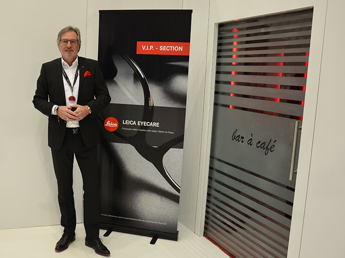 Gunter Fink, Divisional Director bringt LEICA Eyecare auch nach Österreich