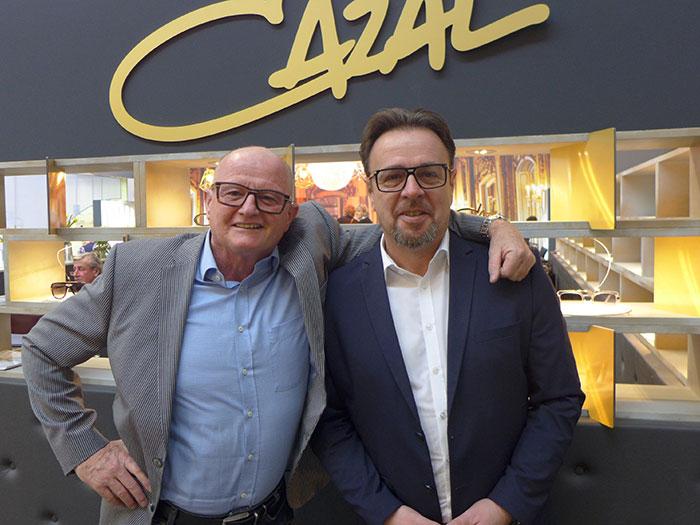 Horst Müller, Vertriebsleiter mitFrank Meyer, Außendienst Österreich zeigenLuxus, Style und Glamour