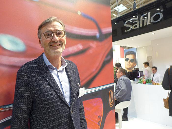 Manfred Reisenberger, Vertriebsleiter für Österreich, bietet ein breites Eyewear Produktportfolioan