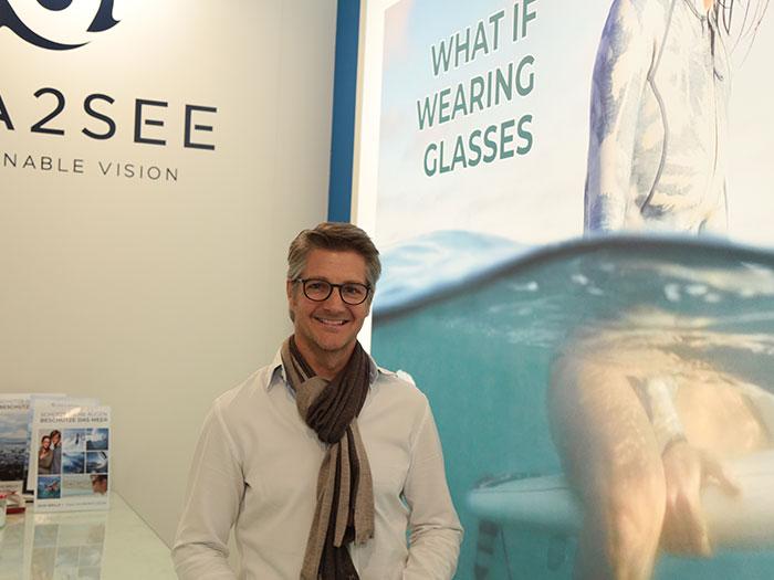 Das Brillenprogramm vonFrancois van den Abeele'sSEA2SEE EYEWEAR holt pro Tag etwa 1000 Kilogramm Plastikabfall aus dem Meer
