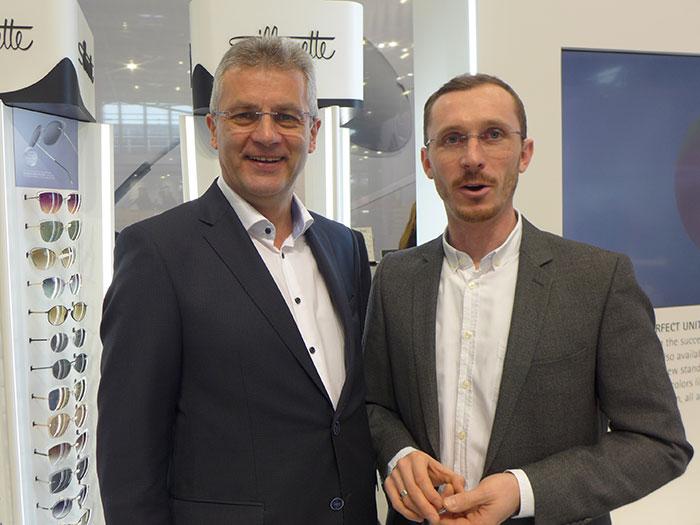 Johann Pürmayr, Geschäftsleiter für Österreich, berichtet über die randlose Brillenrevolution