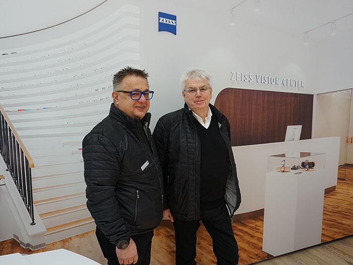 Axel Brander, Regional Sales Manager Austria und Werner Brunbauer, Director of Sales Austria & Slovenia erklären die Vorteile von VISIOCONSULT
