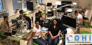 Das Frühjahr startet mit einem Vorbereitungslehrgang Augenoptiker und einem Refraktionsseminar