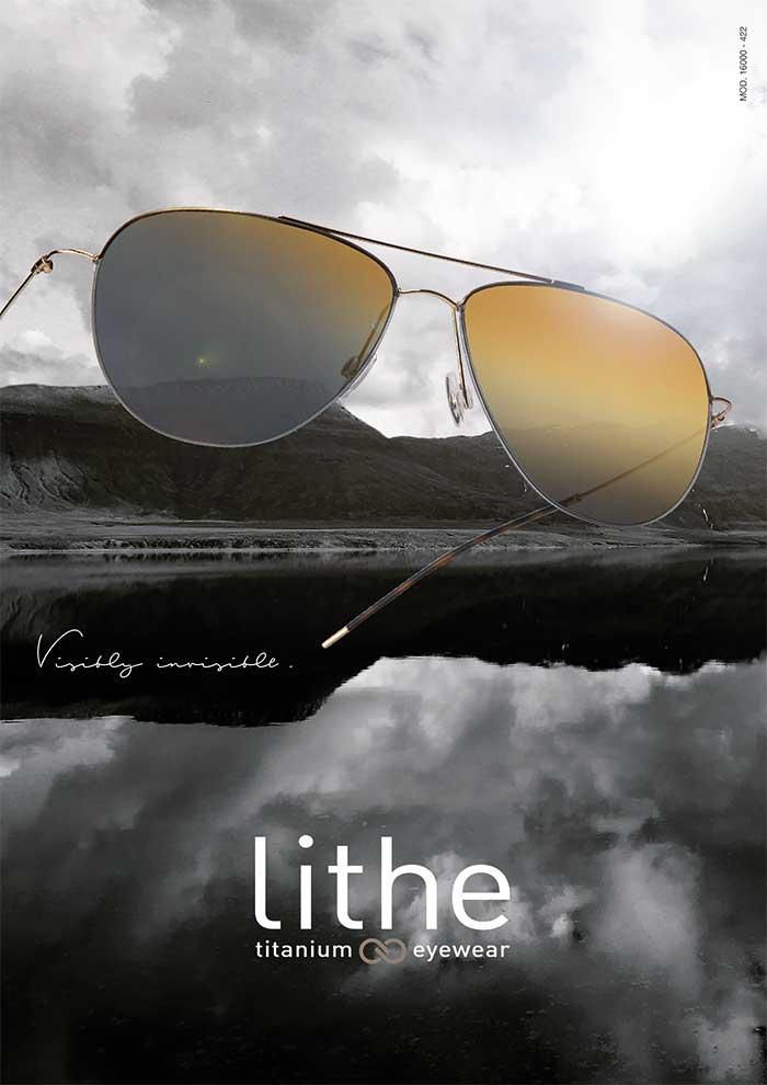 Lithe Eyewear deckt Trend der leichten Brillen ab und ist extrem unauffällig