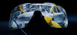 """Porsche Design präsentiert die revolutionäre """"Glued Visor"""" Shield Brille"""