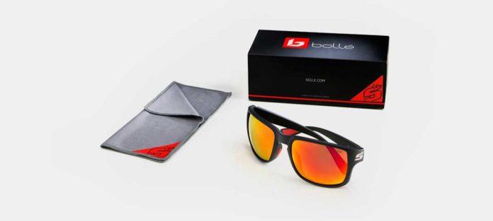 Die neue Sonnenbrille SLATE in den Farben von Johann Zarco
