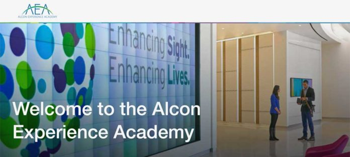ALCON EXPERIENCE ACADEMY™ 2019