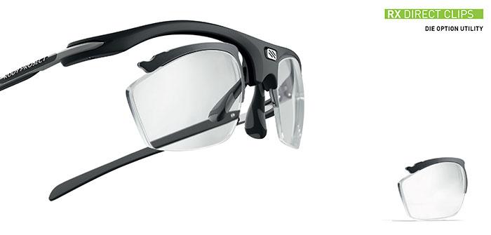 Die Direct Clips ermöglichen es dem Optiker, die Kanten der Gläser im eigenen Labor ohne den Einsatz komplexer Maschinen selbst anzufertigen