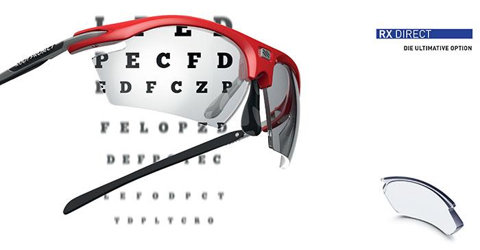 ImpactRX ist das fortschrittlichste Korrektionsprogramm für Sportbrillen