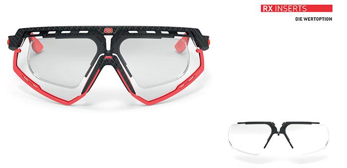Der RX Optical Insert von Rudy Project ist ein Einsteiger-Korrektionsclip, der eine preiswerte Verglasung ermöglicht