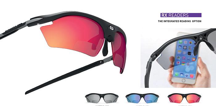 Die Rydon Sport Readers sind fertige Sportbrillen mit einer Korrektur im Nahbereich