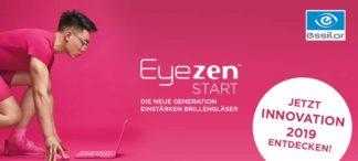 Neu ab Mai: Essilor Eyezen™ Start – die neue Generation Einstärken Brillengläser