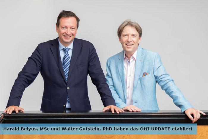 Harald Belyus und Walter Gutstein haben das OHI UPDATE etabliert
