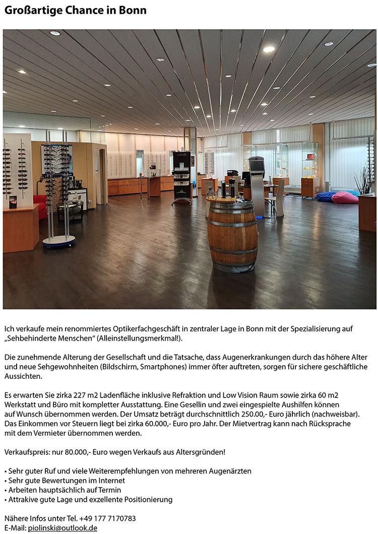 Nachfolgerbetrieb Bonn