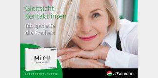 Multifokale Kontaktlinsen von Menicon – 1002 Möglichkeiten