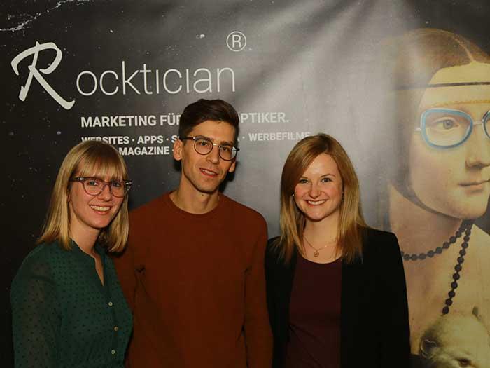 Startup Gründer Yannick Fetsch, BSc mit seinem Marketingteam