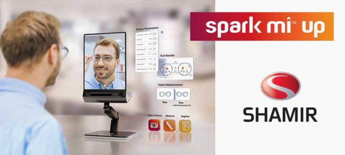 Shamir spark mi™ up™ - das Videozentriersystem für exakte Messungen inklusive Covid-19-Schutz