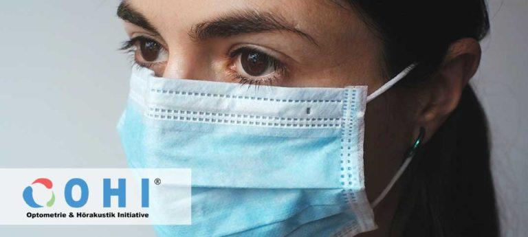 Infektionsrisiko-Minimierung für Augenoptiker und Hörakustiker