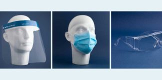 MPG Healthcare bietet Schutzmasken, –brillen und -visiere