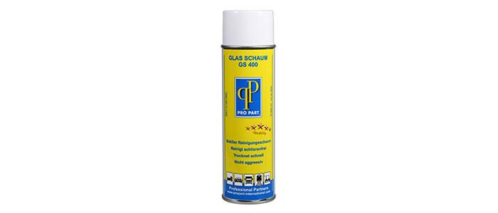 Ergänzend wird ein Reiniger für Acrylglasprodukte angeboten, der ein sauberes und von Schlieren freies Reinigungsergebnis gewährleistet