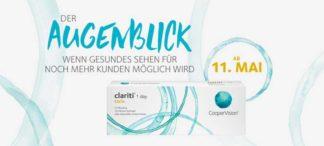 CooperVision erweitert den Lieferbereich bei der clariti® 1 day toric