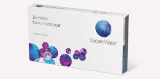 CooperVision gibt Verfügbarkeit der Kontaktlinse Biofinity® toric multifocal bekannt
